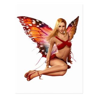Cartão Postal Fada de Venus