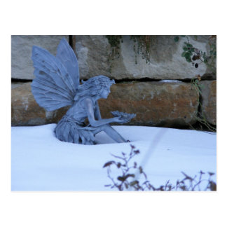 Cartão Postal Fada do inverno