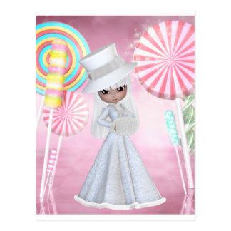 Cartão Postal Fada do Sugarplum