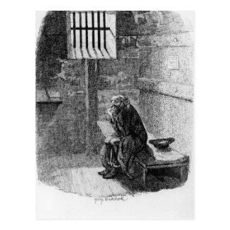 Cartão Postal Fagin na pilha condenada