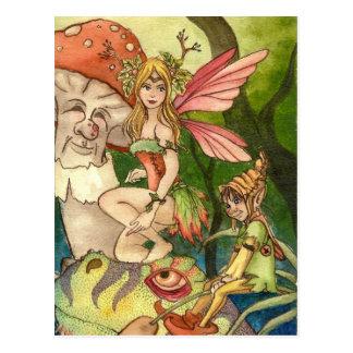 Cartão Postal Fairyland
