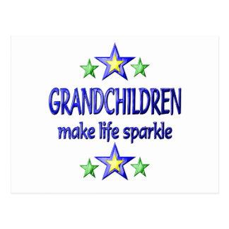 Cartão Postal Faísca dos netos