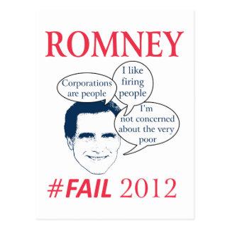 Cartão Postal Falha de Romney