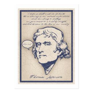Cartão Postal Falha épico de Jefferson