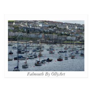 Cartão Postal Falmouth pela fotografia de OllyArt