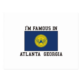 Cartão Postal Famoso em Atlanta, Geórgia