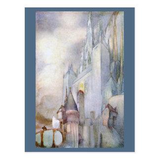 Cartão Postal Fantasia 1912 rara do vintage da ilustração