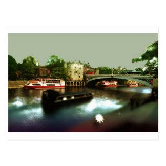 Cartão Postal Fantasia de York
