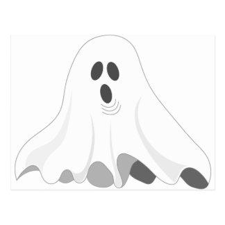 Cartão Postal Fantasma do Dia das Bruxas - VAIA!