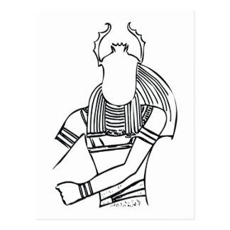 Cartão Postal Faraó 1 do escaravelho