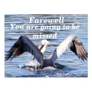 Cartão Postal Farewell_