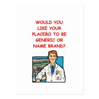 Cartão Postal farmacêutico