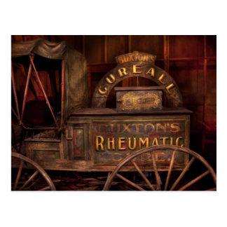 Cartão Postal Farmácia - o vagão reumático da cura