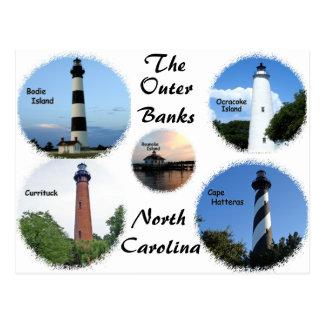 Cartão Postal Faróis dos bancos exteriores