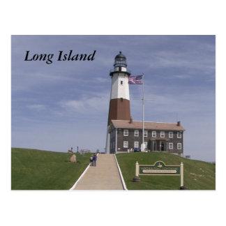 Cartão Postal Farol 2 de Long Island