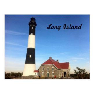 Cartão Postal Farol 3 de Long Island