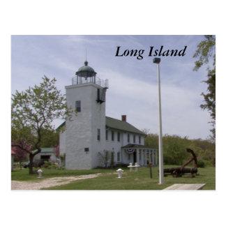 Cartão Postal Farol 4 de Long Island