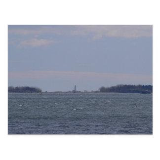 Cartão Postal Farol-Cartão principal de Long Island