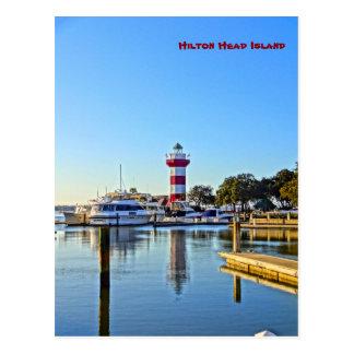 Cartão Postal Farol da cidade do porto - SC de Hilton Head
