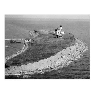 Cartão Postal Farol da ilha de Falkner