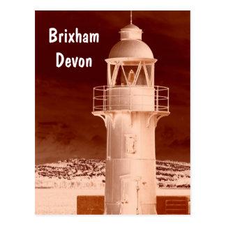 Cartão Postal Farol de Brixham