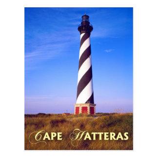 Cartão Postal Farol de Hatteras do cabo, North Carolina