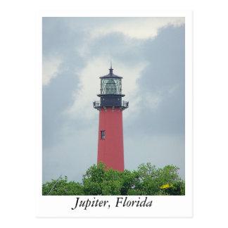 Cartão Postal Farol de Jupiter
