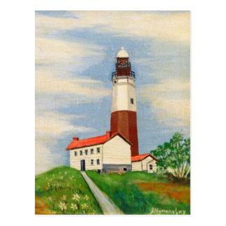 Cartão Postal Farol de Montauk
