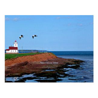 Cartão Postal Farol de Prince Edward Island
