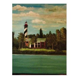 Cartão Postal Farol de St Augustine
