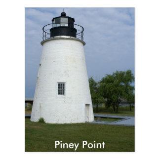 Cartão Postal Farol Piney do ponto