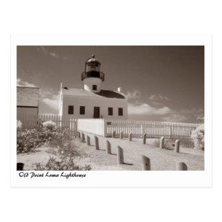 Cartão Postal Farol velho do Point Loma, II