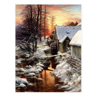 Cartão Postal Farquharson - silêncio da neve