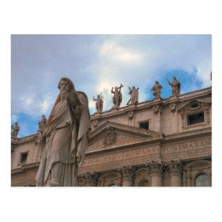 Cartão Postal Fascade de St Peter