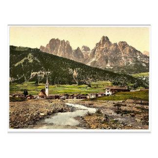 Cartão Postal Fassathal (isto é, Fassatal), St. Nicolo e Rosenga