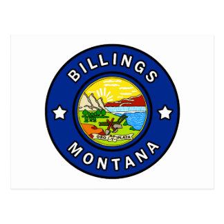 Cartão Postal Faturamentos Montana