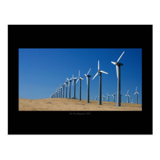 Cartão Postal Fazenda de vento
