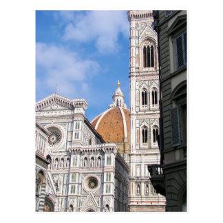 Cartão Postal Feche acima em Florença