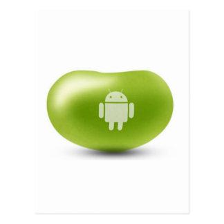 Cartão Postal Feijão de geléia do Android