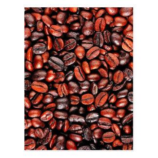 Cartão Postal Feijões de café