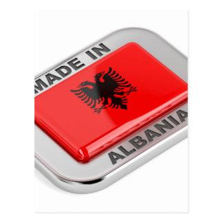 Cartão Postal Feito em Albânia