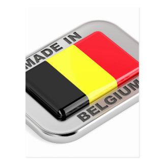 Cartão Postal Feito em Bélgica