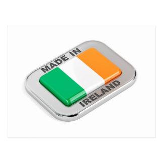 Cartão Postal Feito em Ireland