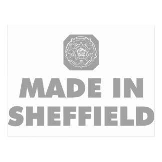 Cartão Postal Feito em Sheffield