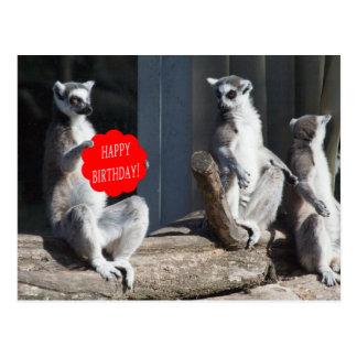 Cartão Postal Feliz aniversario Katta