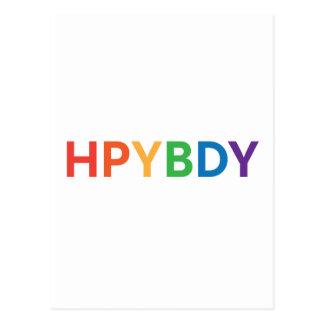 Cartão Postal Feliz aniversario: Texting