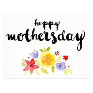 Cartão Postal Feliz dia das mães corajoso pelo oziaz