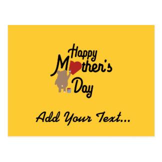 Cartão Postal Feliz dia das mães Zg6w3