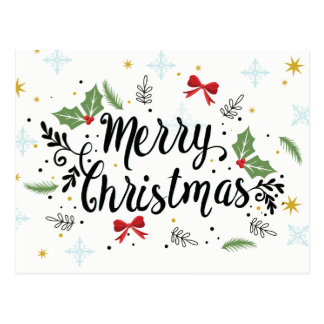 Cartão Postal Feliz Natal!