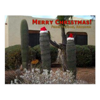 Cartão Postal Feliz Natal de Tucson